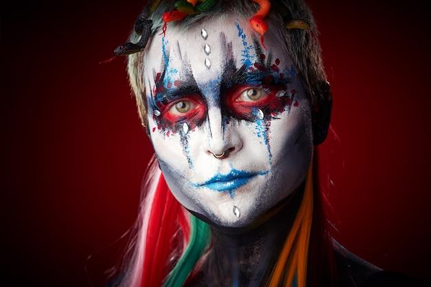 Halloween tworzą czaszkę cukru piękny model
