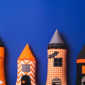 Halloweenowe miękkie śmieszne wieże