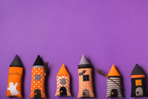 Halloweenowe miękkie zabawki
