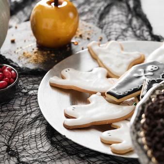Halloweenowe smakołyki z bliska