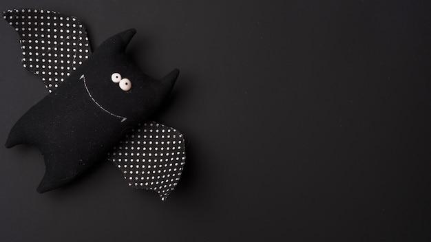 Halloweenowy miękki nietoperz