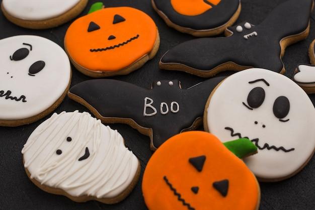 Halloweenowy smakowity miodownik