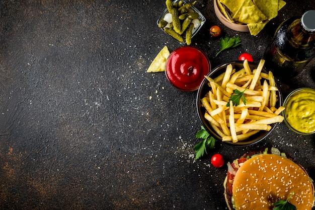 Hamburgery i przekąski imprezowe