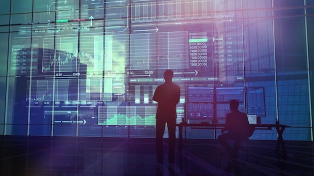 Handlowcy monitorują stan giełdy