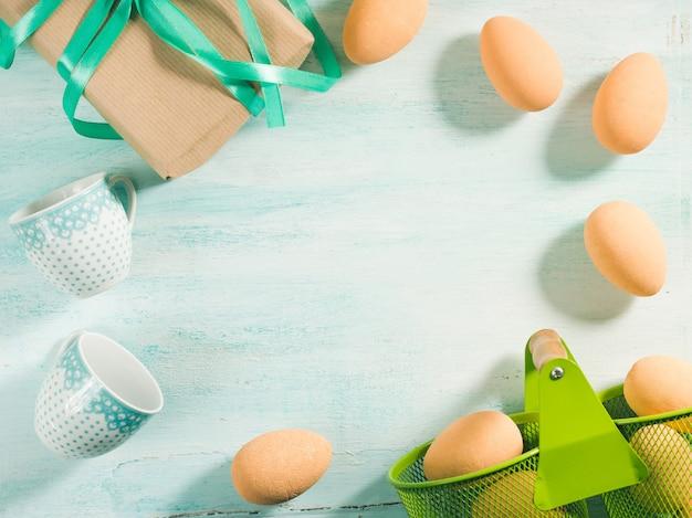 Happy easter pastelowe greeneggs prezent kubki przestrzeń