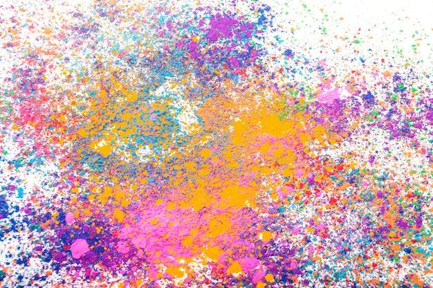 Happy holi kolorowy splash