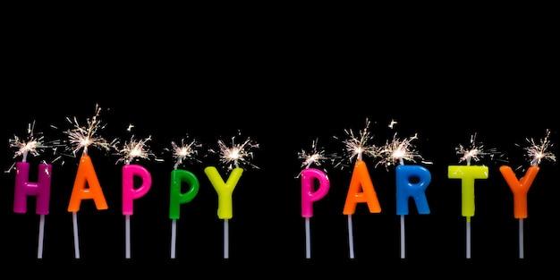 Happy party tekst czarownic fajerwerków