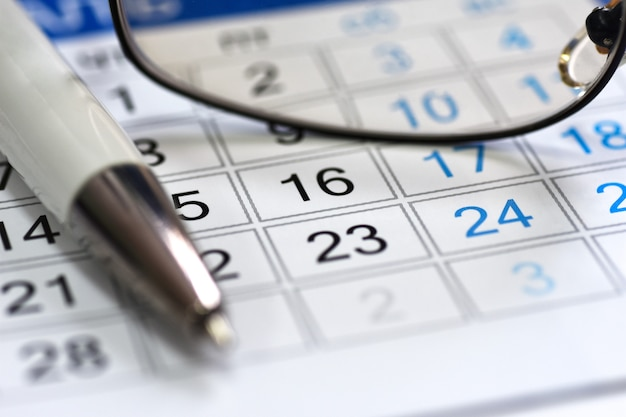Harmonogram kalendarza w menedżerze stanowisk