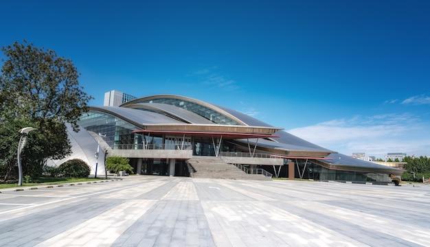 Hefei city nowoczesna architektura krajobraz panoramę