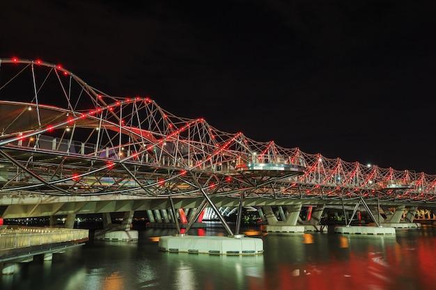 Helix bridge w singapurze