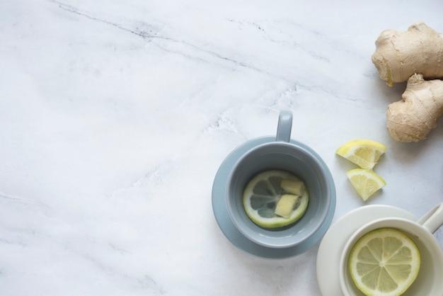 Herbata cytrynowa i jengibre
