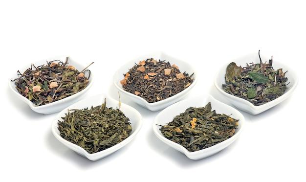 Herbata i liście