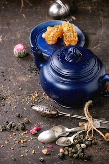 Herbata i miód