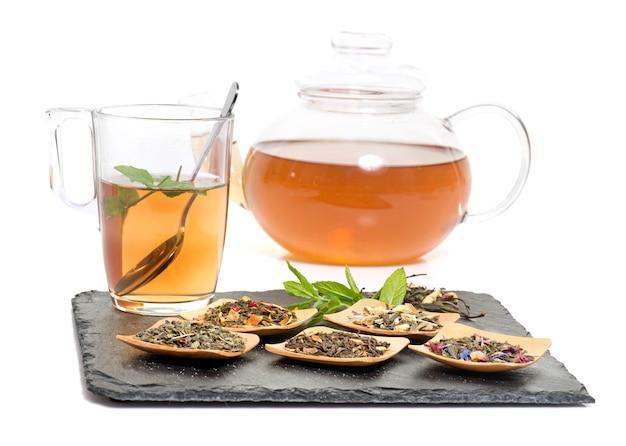 Herbata i szkło