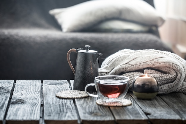 Herbata martwa w salonie