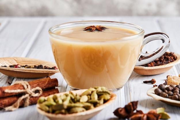 Herbata masala z przyprawami