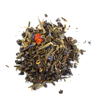 Herbata na białym tle