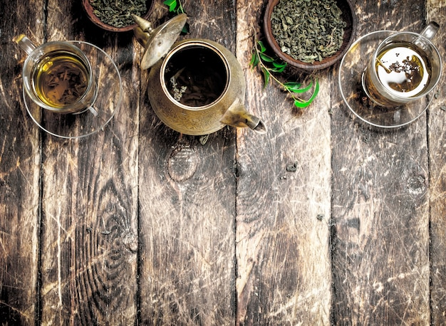 Herbata o smaku chińskim.