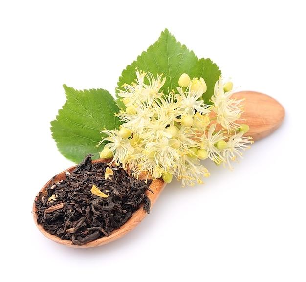 Herbata z kwiatami lipy rośnie