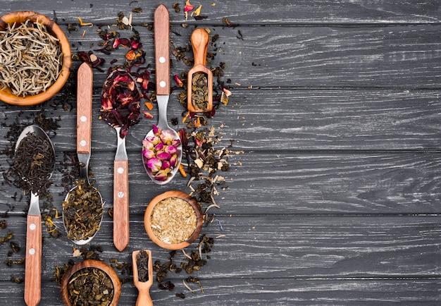 Herbata ziołowa z kopiowaniem miejsca