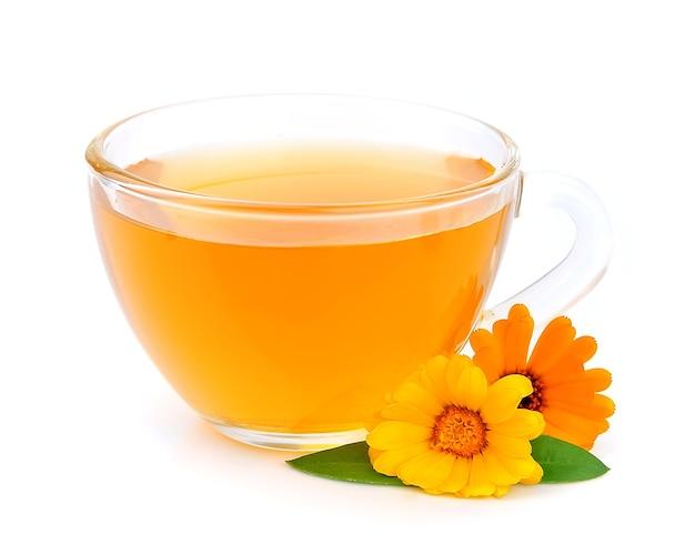 Herbata ziołowa z kwiatem nagietka
