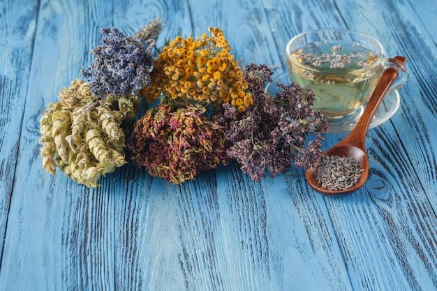 Herbata ziołowa z lawendą