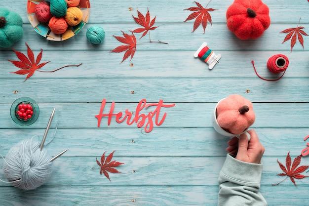 Herbst po niemiecku oznacza jesień.
