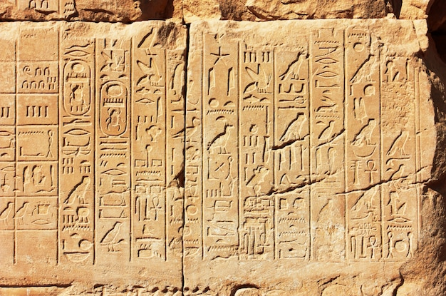 Hieroglify starego egiptu