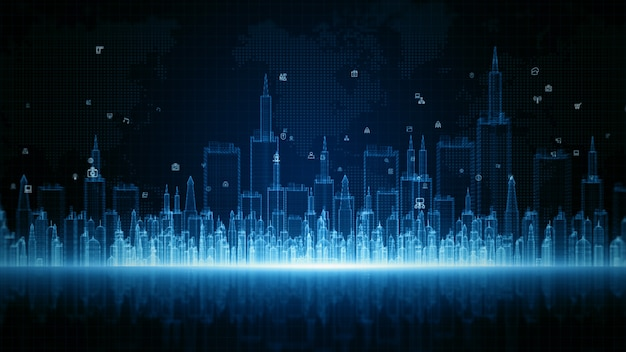 High speed internet connection data analysis technology digital concept
