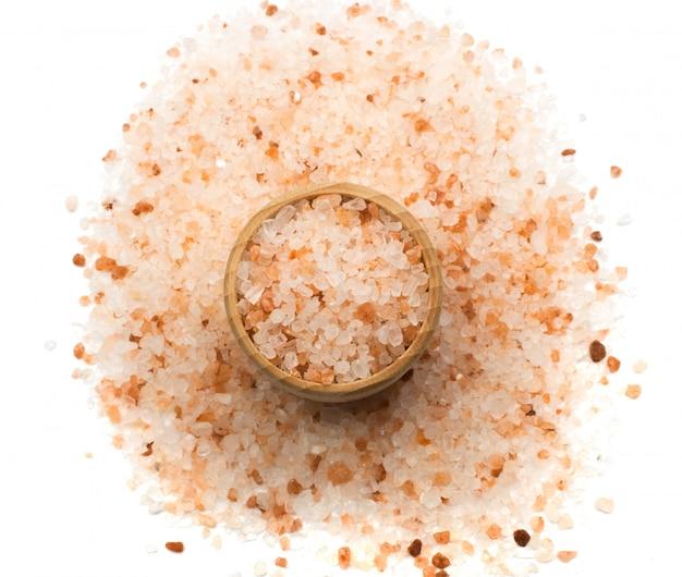 Himalajska różowa sól odizolowywająca