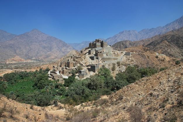 Historyczna wioska al ain w arabii saudyjskiej