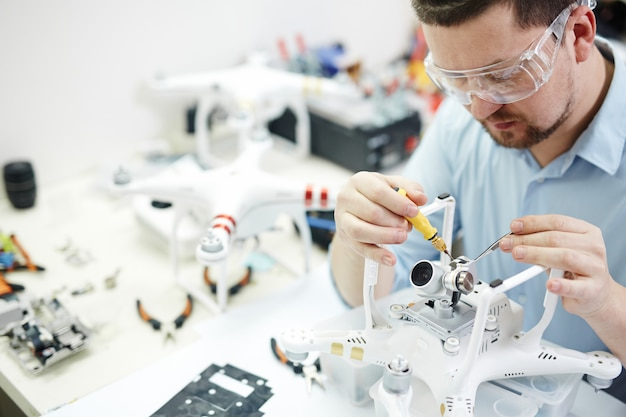 Hobby elektroniki dla mężczyzn