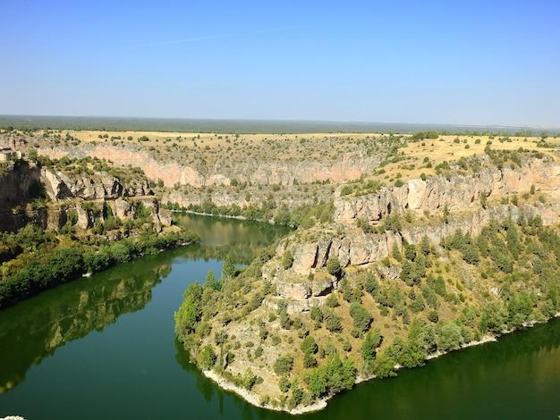 Hoces del rio duraton w segowii w hiszpanii
