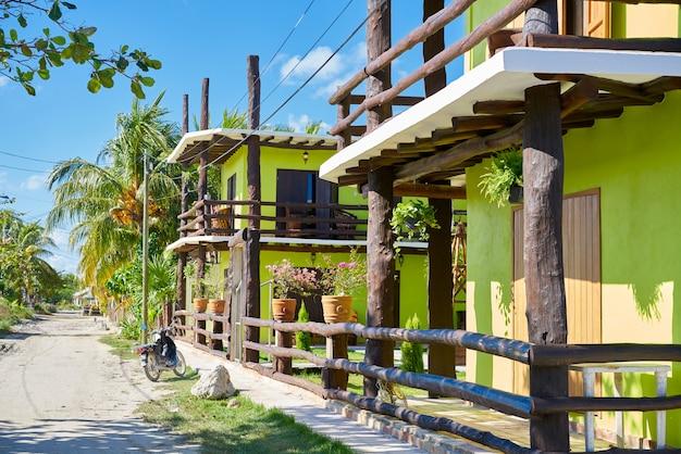 Holbox wyspa w quintana roo meksyk