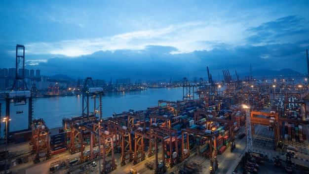 Hong kong sea port