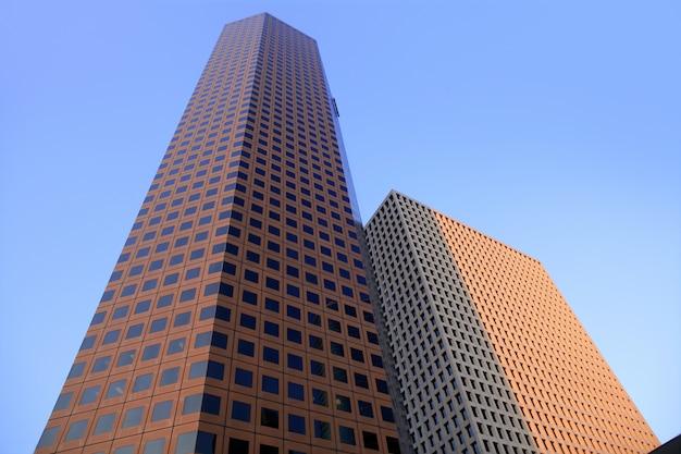 Houston śródmieścia miasta miastowy budynki