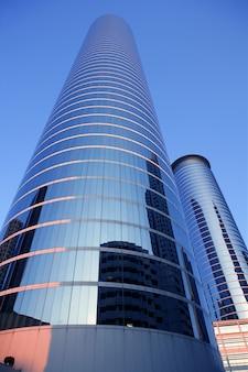 Houston teksas budynków drapacza chmur błękitny miasto