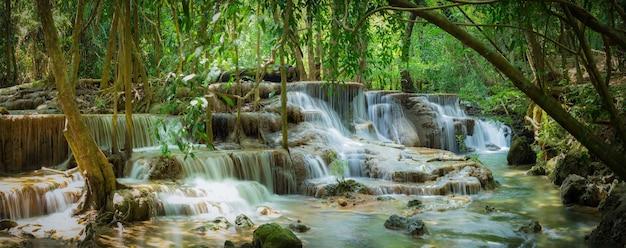 Huay mae kamin wodospad park narodowy