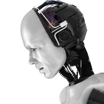 Humanoidalna twarz robota