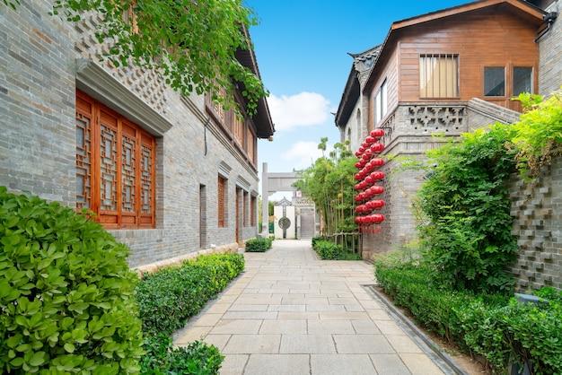 Hutong w starym mieście, luoyang, henan, chiny.