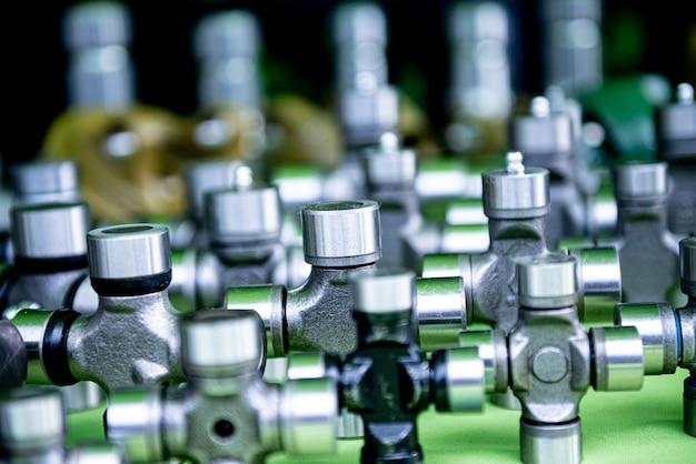 Hydraulika i armatura na zielonym tle