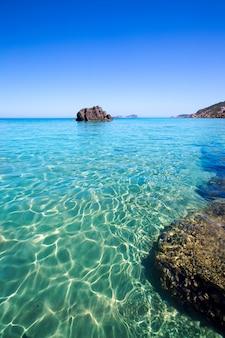 Ibiza aigues blanques plaża aguas blancas w santa eulalia