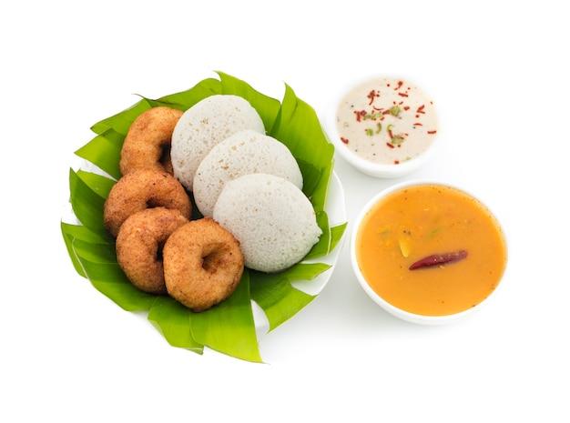 Idli vada południe indyjski jedzenie
