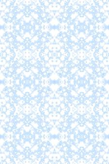 Ikat tło. niebieski wzór. akwarela etniczna ozdoba.