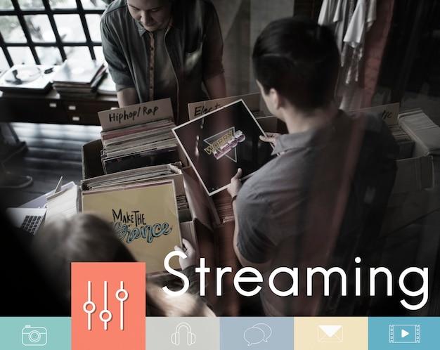 Ikona multimedialnego przycisku korektora muzycznego
