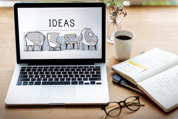 Ikona procesu tworzenia pomysłów