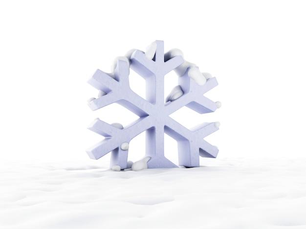Ikona snowy snowflake