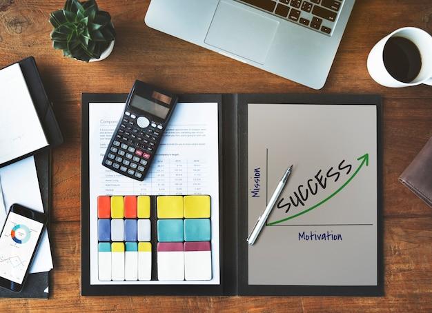 Ikona sukcesu strategii kreatywności osiągnięć
