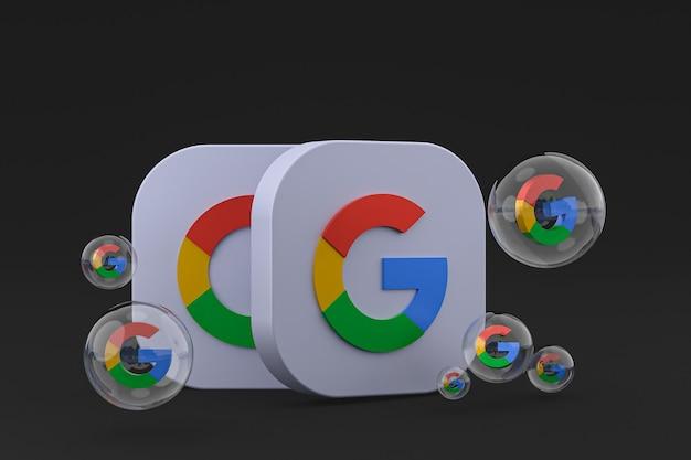 Ikony google renderowania 3d