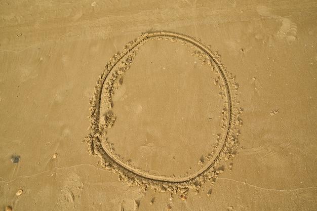 Ilość napisane w piasku